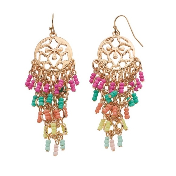 Color Jewelry - 🚨BOGO🚨NWT. Seed Bead Earrings